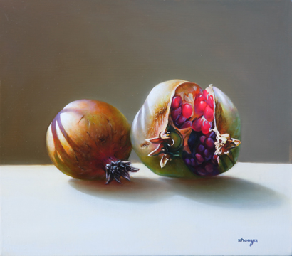 Two Pomegranates 14