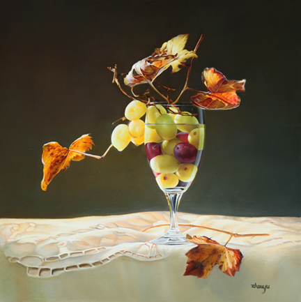 Grapes and Leaves 20